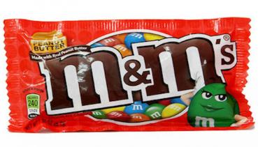 m&m`s Peanut Butter